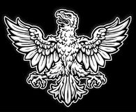 Heraldic Eagle. A heraldic-style Eagle Illustration. Excellent for crest designs Stock Image