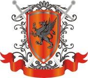 Heraldic symbol Royalty Free Stock Images