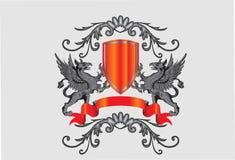 Heraldic symbol Stock Photography