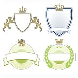 Heraldic symbols Royalty Free Stock Photos