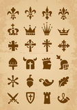 Heraldic symbols Royalty Free Stock Image