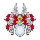 Heraldic vector Stock Image