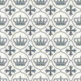 Heraldic vector background seamless Royalty Free Stock Photos