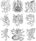 heraldic VOL. изверга ii бесплатная иллюстрация