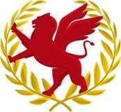 Heraldic wreath Royalty Free Stock Image