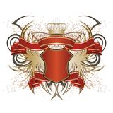 heraldik Arkivfoto