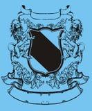 heraldiklion Arkivfoto