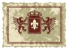 Heraldisch embleem. Royalty-vrije Stock Foto's