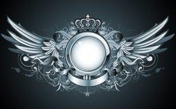 Heraldisch frame royalty-vrije illustratie