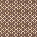 Heraldisch patroon in de vorm van een schild Stock Afbeelding