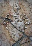 Heraldisch schild Royalty-vrije Stock Afbeelding