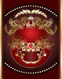 Heraldisch teken Royalty-vrije Stock Afbeelding