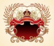 Heraldisch teken Royalty-vrije Stock Foto's
