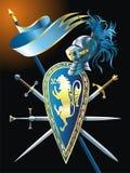 Heraldische achtergrond royalty-vrije illustratie