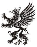 Heraldische griffioen Stock Afbeeldingen