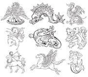 Heraldische monsters volume VII Royalty-vrije Stock Fotografie