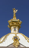 Heraldische Wohnung mit drei ging Adler des großartigen Palastes voran Stockfoto