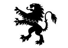 Heraldischer Löwe Lizenzfreies Stockfoto
