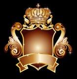 Heraldisches Schild Stockfotografie