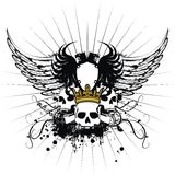 Heraldisches Wappen Verzierung 2 Lizenzfreie Stockbilder