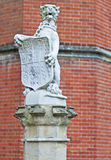 heraldisk drake Fotografering för Bildbyråer