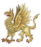 heraldisk griggin Fotografering för Bildbyråer