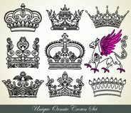 heraldisk krona Royaltyfri Fotografi