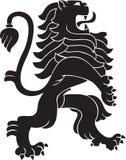 heraldisk lion Arkivbilder