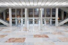 Heraldisk lobby på den statliga Kremlslotten Arkivfoto