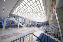 Heraldisk lobby på Kremlslotten Arkivbild