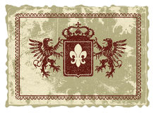 heraldisk logo royaltyfria foton
