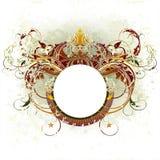 heraldisk medeltida sköld Royaltyfri Fotografi