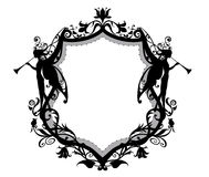 Heraldisk ram Royaltyfria Bilder