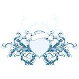 heraldisk sköld Arkivbilder