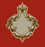 Heraldisk sköld Royaltyfria Foton