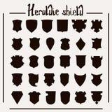 Heraldisk uppsättning för vektor Royaltyfria Bilder
