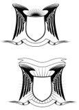 heraldiska element Arkivfoto