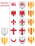 heraldiska element Royaltyfria Bilder