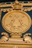 Heraldiska motiv på ytterdörr till Les Invalides paris Royaltyfri Fotografi