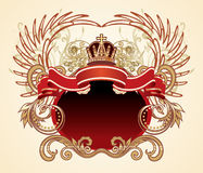 heraldiskt tecken Royaltyfria Foton