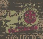 heraldry искусства Стоковые Фото