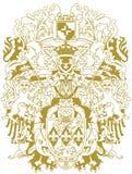 heraldry конструкции самомоднейший Стоковое Фото