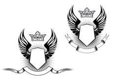 heraldry конструкции Стоковое Изображение