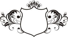 heraldry рамки Стоковая Фотография