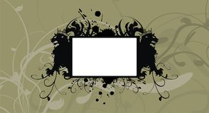 Heraldry black lions copyspace frame picture frame background. Heraldry two lions copyspace frame picture background in vector format very easy to edit royalty free illustration