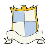 Heraldry cartoon Royalty Free Stock Photography