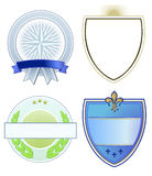 Heraldry and coat of arms Stock Photography