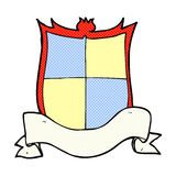 Heraldry comic cartoon Royalty Free Stock Images