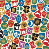 Heraldry design Stock Image