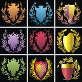 Heraldry elements Royalty Free Stock Photo